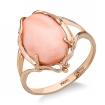 Кольцо с розовым кораллом SL-2237-450 весом 4.5 г  стоимостью 33750 р.